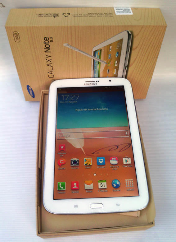 WTS... Samsung Galaxy Note 8 white ASLI. Mulus Rp.3.200.000 Negooo