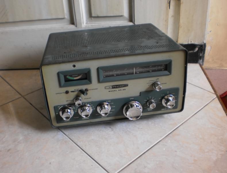 Heathkit Hx-20 Radio TUBE Ham,.HF ssb