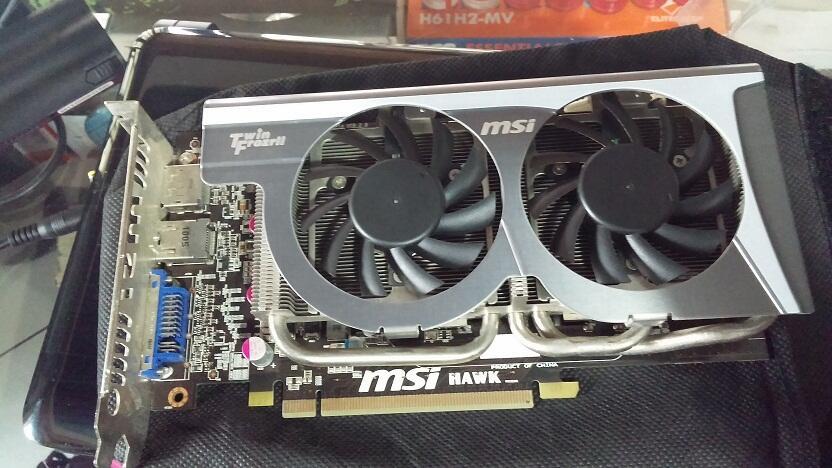 WTS VGA MSI 5770 1 GB DDR5 TwinFrozr ngacir gaming!