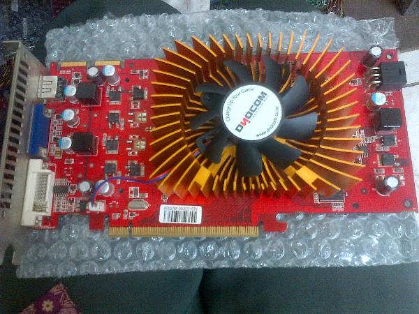 JUAL VGA CARD HD3850 SUPER PCI-EX 512MB 256BIT DDR2 CRT HDMI DVI NORMAL