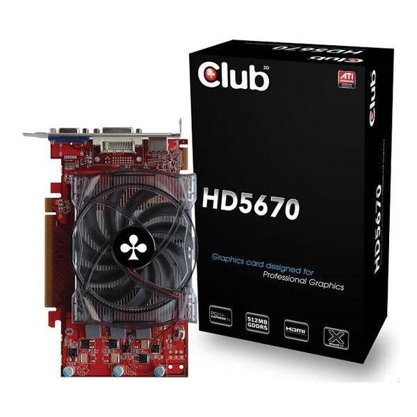 Club HD5670 512mb Gddr5 128bit