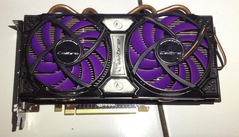 Calibre GTX 560 TI DF OC Edition