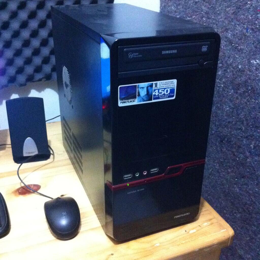 """PC Rakitan DUAL CORE, LG LED Monitor 16"""", Paket Lengkap Banyak Bonus"""