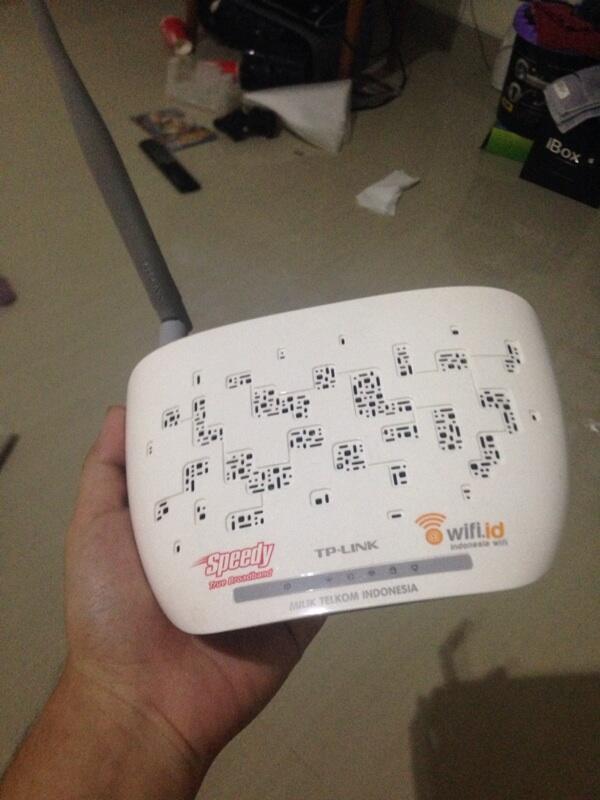 Modem adsl + router buat speedy