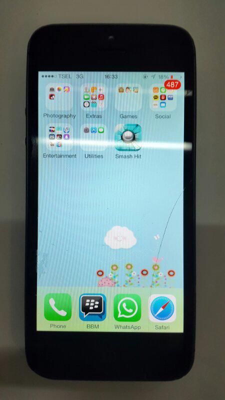 iphone 5 Black 32gb Second