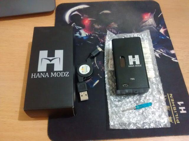 WTS: Hana Modz Clone + Joyetech Delta (Second, Paket)