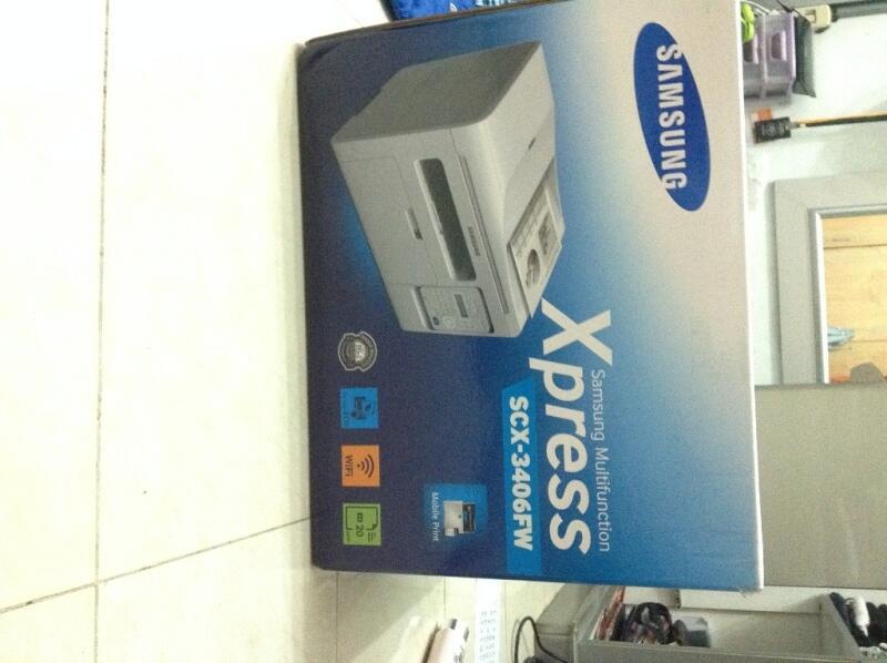 Samsung Multifunction Printer SCX-3406FW NEGO GAN.