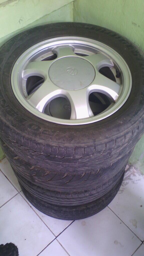 Velg Racing OEM Toyota Soluna R14 PCD 4x100