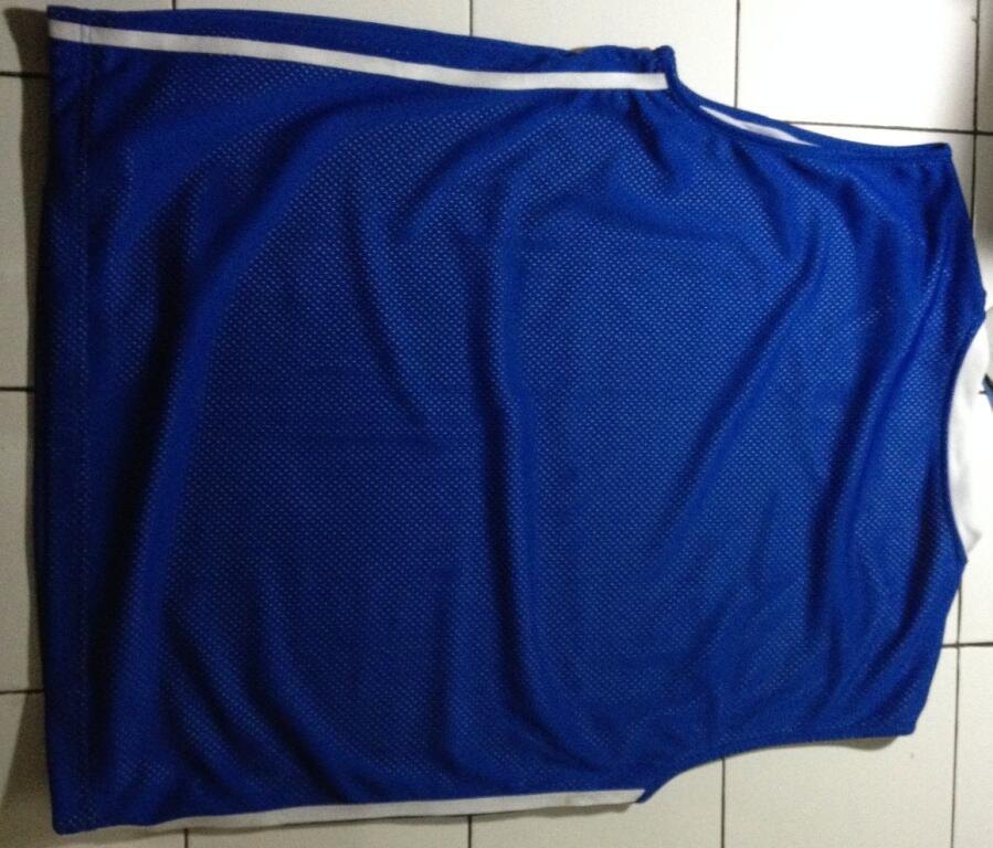 Kaos Olahraga Oblong Rebook Blue Istimewa BEKASI