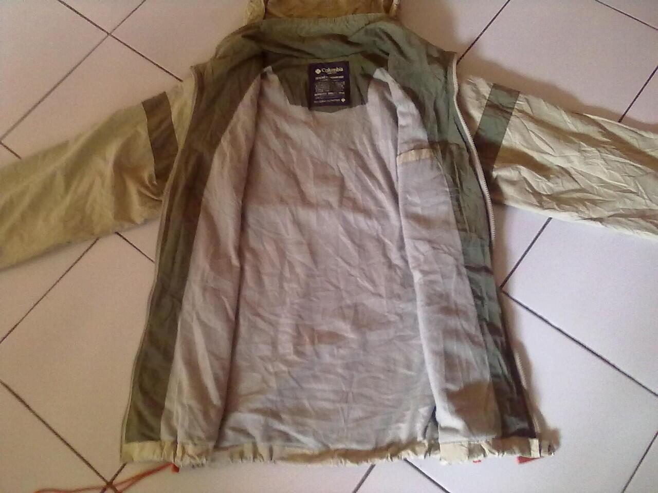 lelang jaket outdoor/gunung columbia,nike ACG,polo ralph lauren original mulus(ob40k)