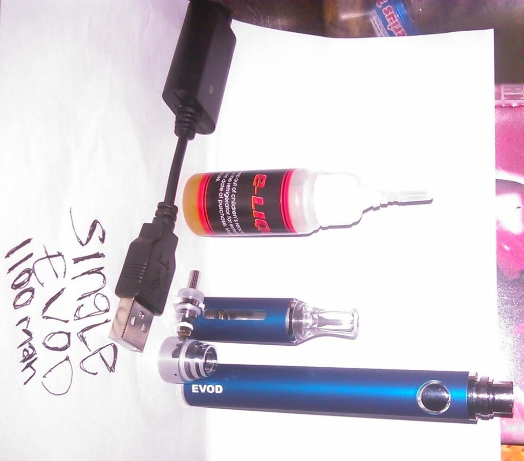 starter kit evod 1100mah blue