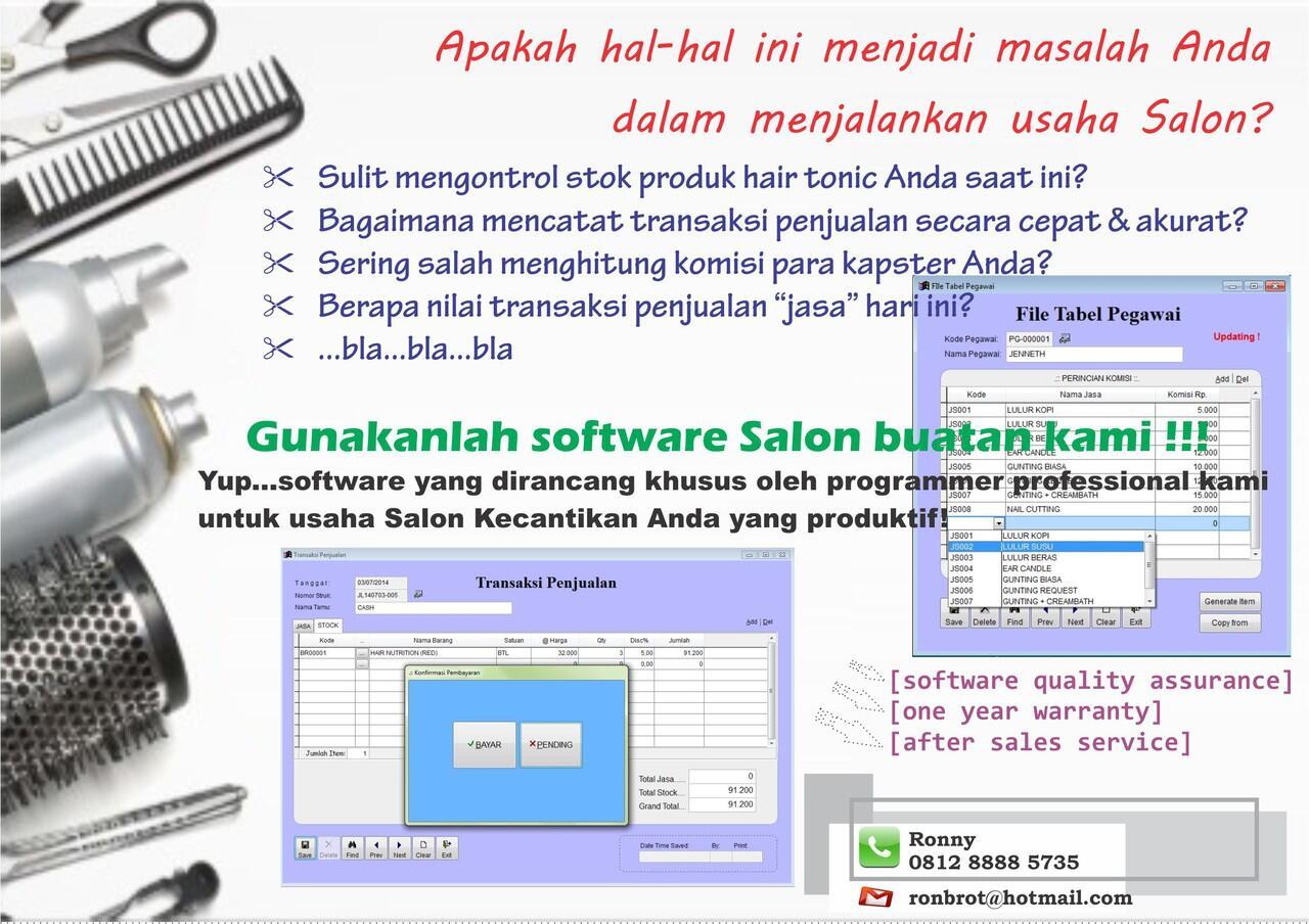 program software SALON