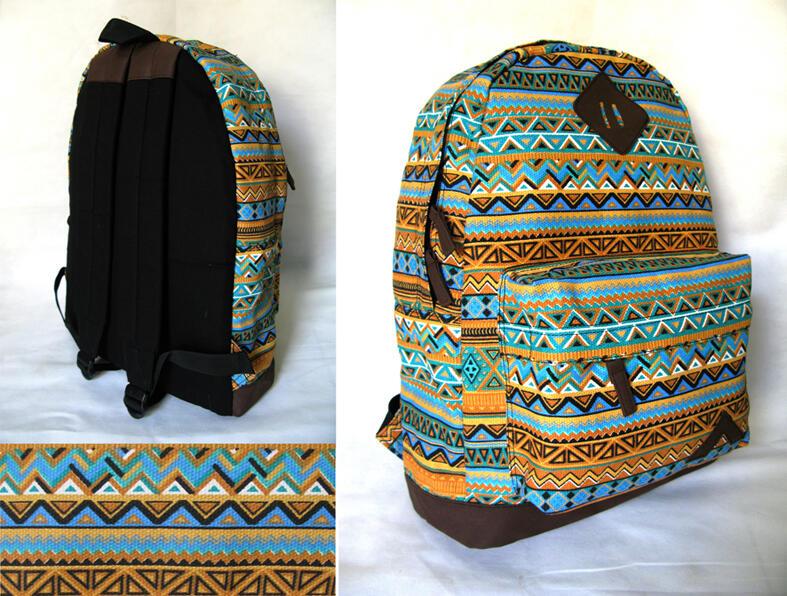 Tas Punggung / Ransel / Backpack. Bercorak / Tribal / Pattern Edition Atoz Series