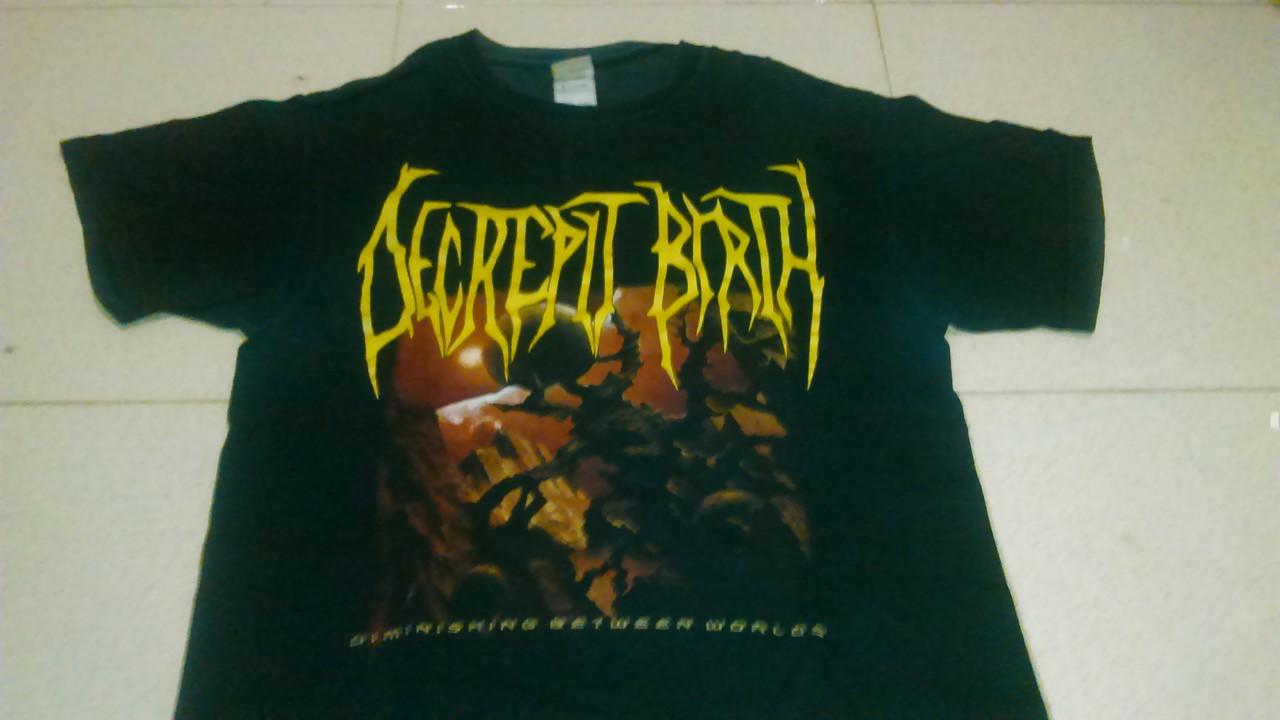 TSHIRT/KAOS METAL IMPORT DECREPIT BIRTH