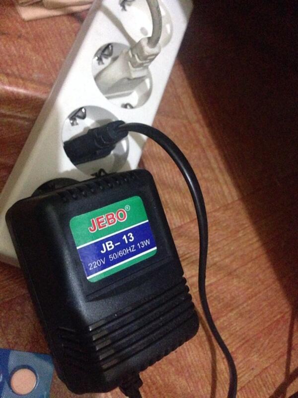 Hang on filter jebo 503 & lampu jebo jb-13 for aquascape