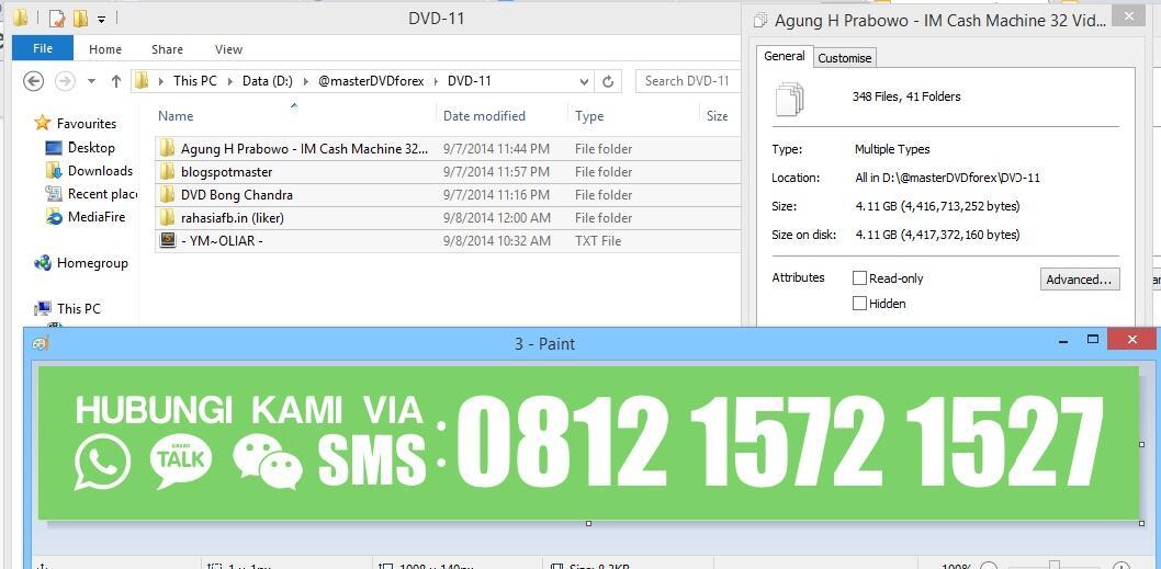 [UPDATE] Paket DVD Tutorial Belajar dasar2 FOREX TRADING Desember 2014