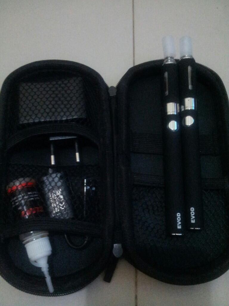 E-Cigarette-Vaporizer Evod 1100mah starter kits double