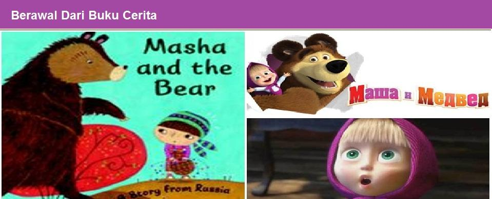Kupas Tuntas Kartun Masha and The Bear dari A-Z! [Lengkap Gan]