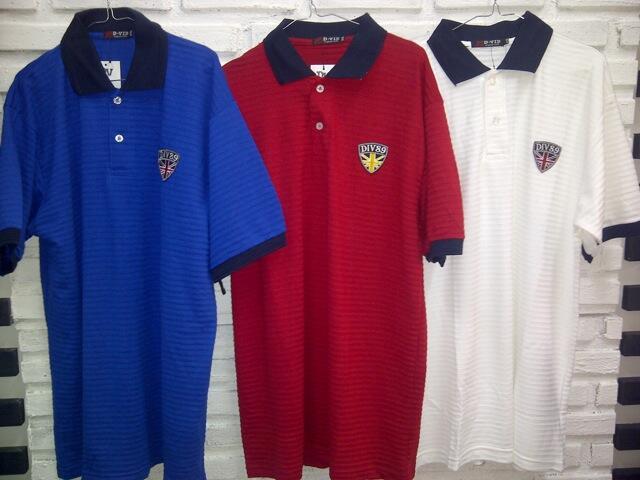 Baju Polo Shirt D-VID XXXL Only Murah sangat