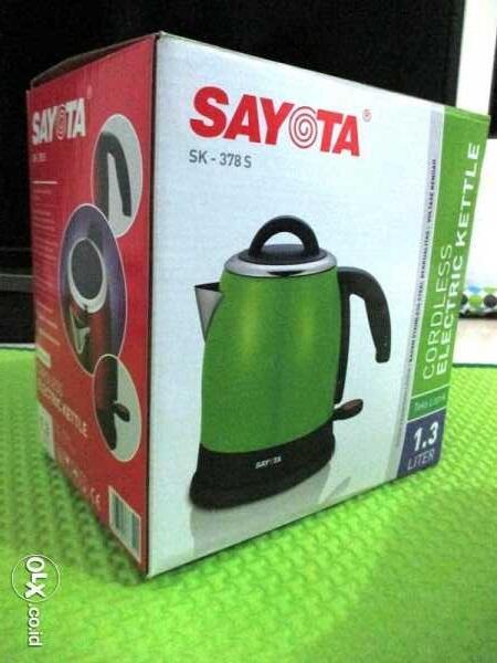 Teko Listrik (heater/pemanas air) Sayota SK 378S Murahh COD Semarang