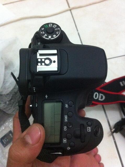 JUAL SANTAI | Canon 70 D Wiffi + kit 18-55 STM