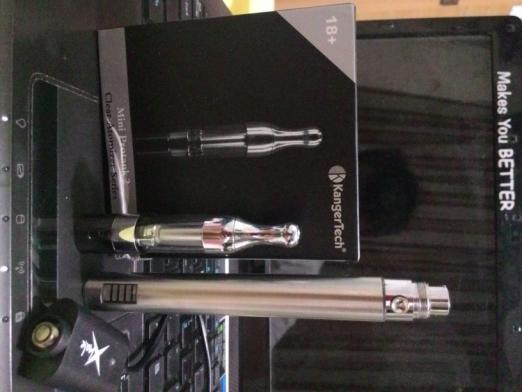 2nd vapor EGO LED VV + mini protank 2 full customize coil. (SEMARANG)