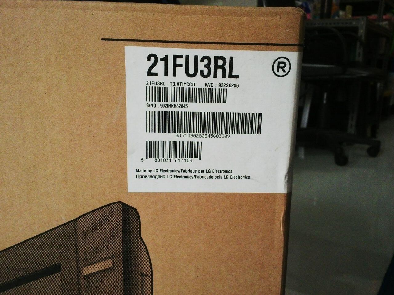 TV LG pearl black 21FY3RL