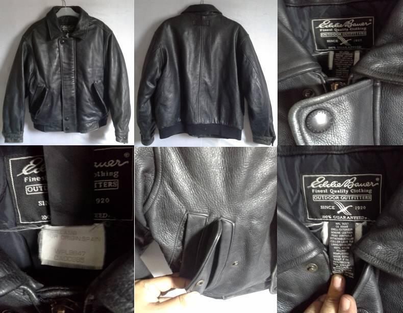 Jaket Kulit Leather Jacket Perfecto|Biker|Harley Davidson|Guess|Eddie Bauer