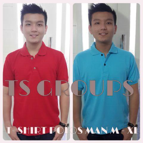 T-Shirt polos pria