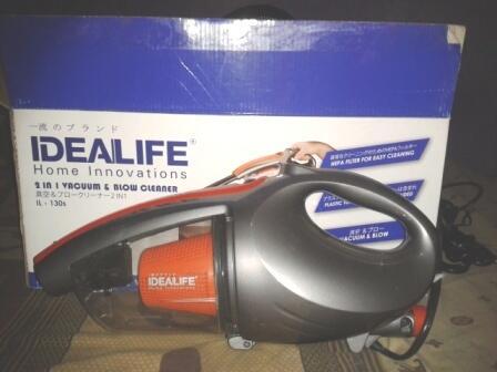 Idealife IL-130S Vacuum Cleaner Mobil Penghisap Debu Portable Bisa Blower