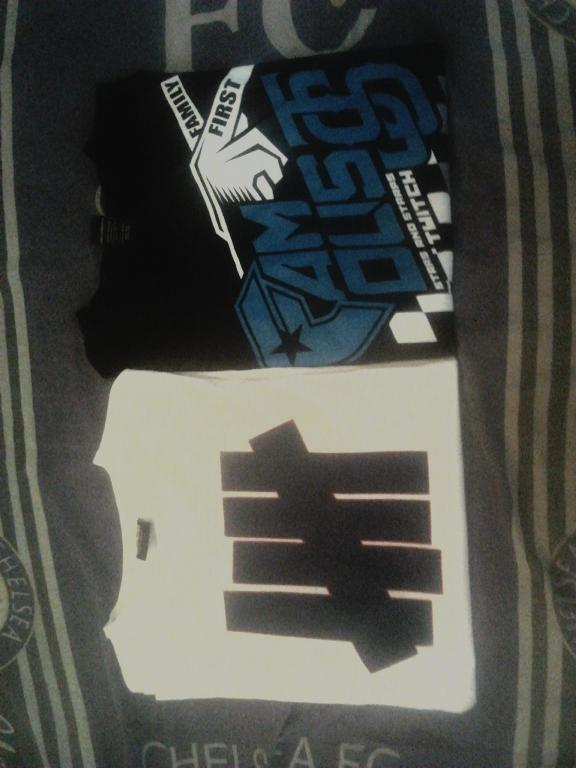 WTS TEE FAMOUS JS TWICH X FMS AND UNDEFEATED