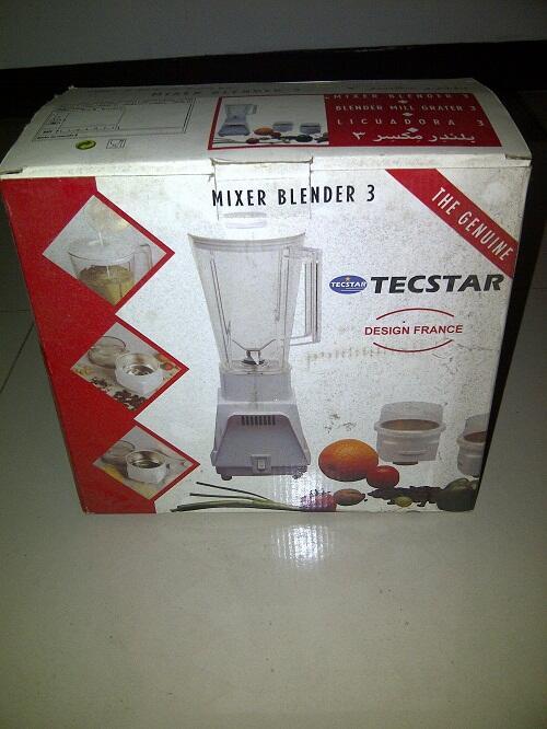 MIXER BLENDER 3 TECSTAR