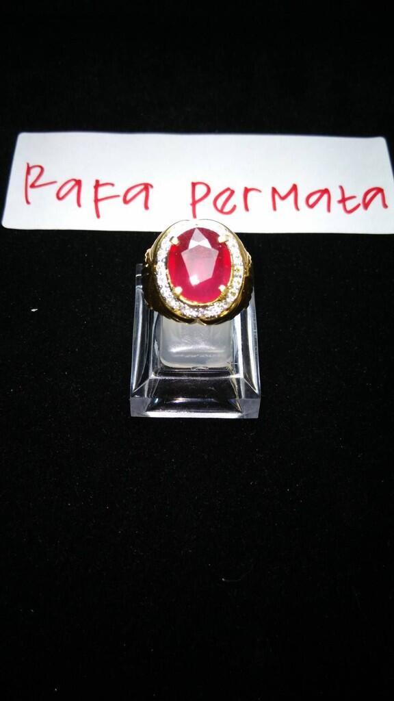 Natural Ruby (Mirah Delima) TOP RED $$$ Harga Dijamin Murah $$$