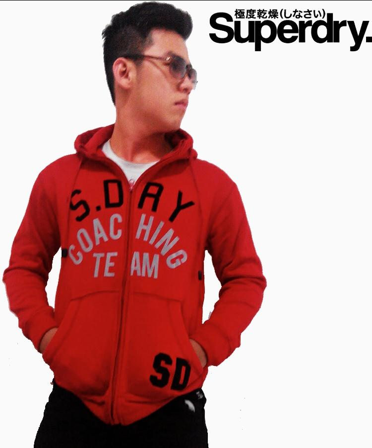 NEW!! Jaket SUPERDRY Fire Red Team IMPORT GANNNN!!! MURMER LOH