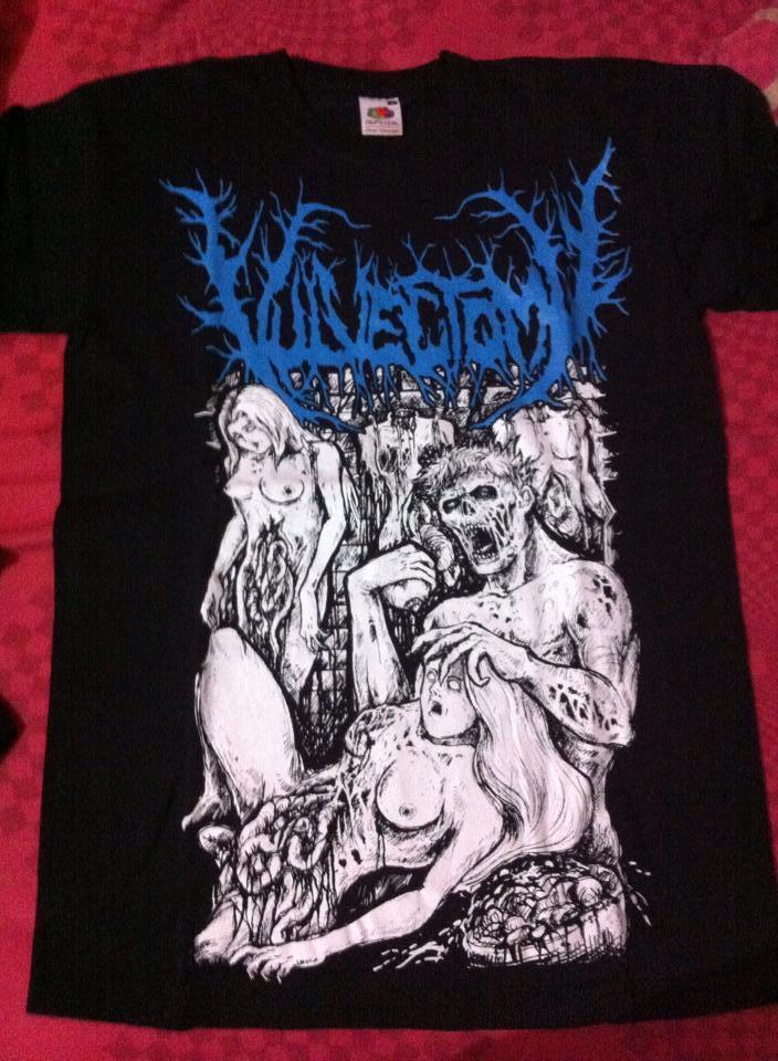 kaos band import ori Vulvectomy genre brutal death metal