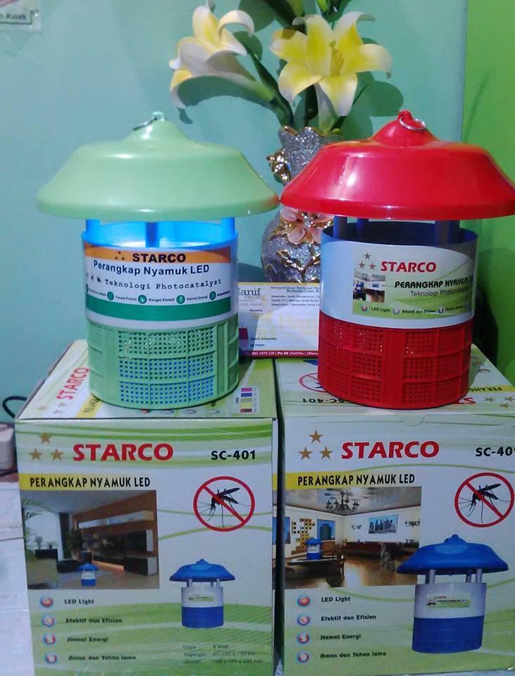 Lampu Perangkap Nyamuk Elektrik Starco Aman tanpa bahan Kimia