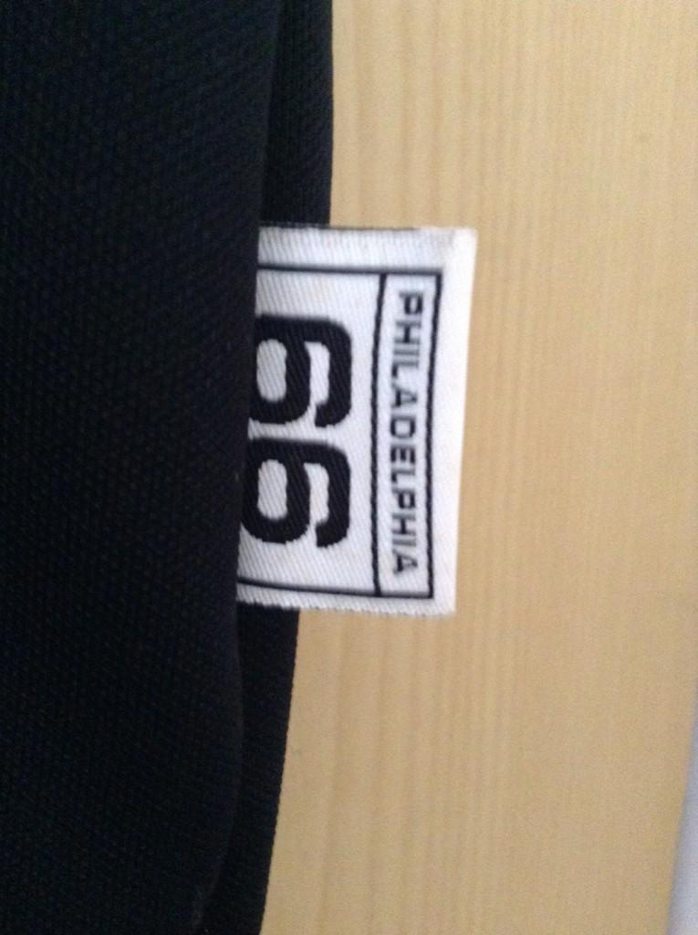 Warming up Shirt 76ers Authentic (Jersey pemanasan Basketball)