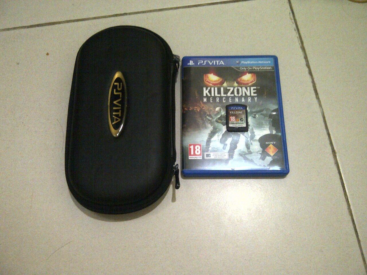 WTS Killzone Mercenary reg 2 Eur + pouch vita