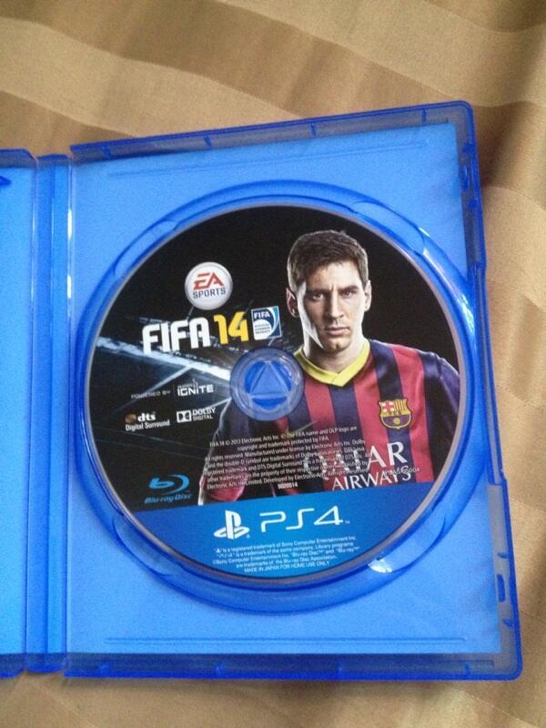 BD PS4 FIFA 14 prefer Barter