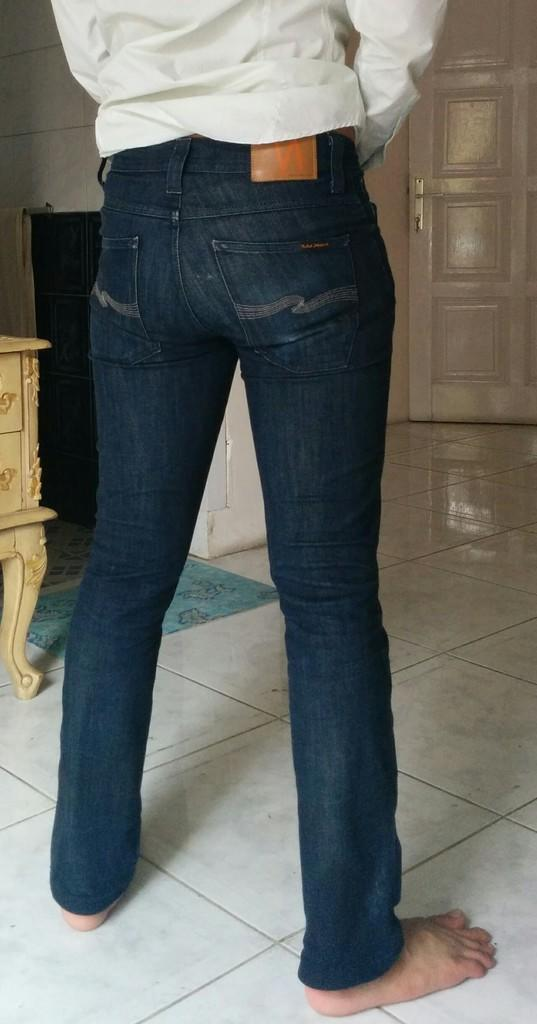 2nd Nudie Dry Jeans Slim Jim 100% Original
