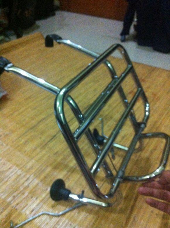 Front rack & bumper Vespa PX series FA Italia