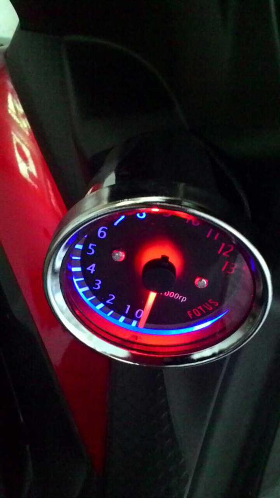 jual RPM meter / takometer dengan led