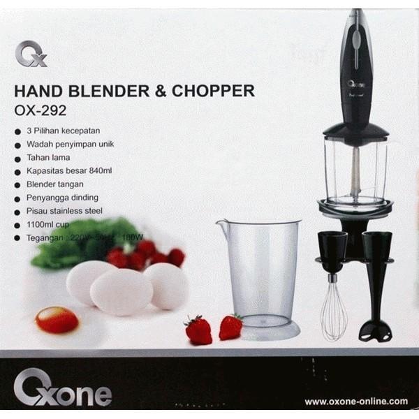 Oxone OX-292 Hand Blender & Chopper CUMA RP.360.000