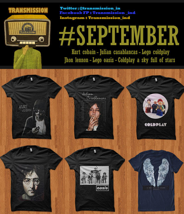 Transmission T-shirt Pre order and Ready stock