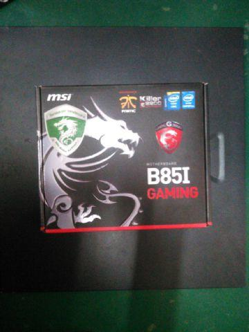 Murah BNIB MSI B85i Gaming+Core i5 4670K new Segel Bonus spedy 1000 jam
