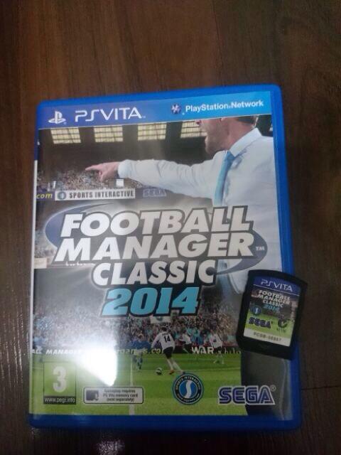 Jual football manager classic 2014 ps vita