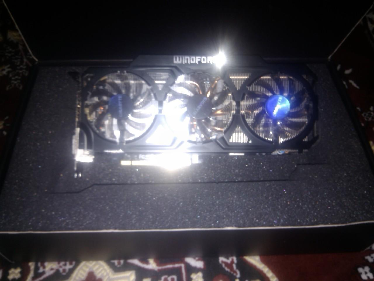 WTS Gigabyte Gtx 770 windforce triple fan