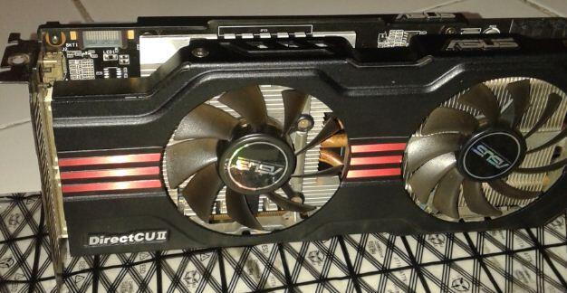 Asus GTX 560Ti Direct CU mintib bingit