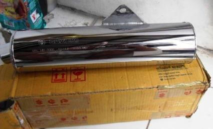 Knalpot Silencer Satria F Thailand dan Lokal CKD Ori (SOLO)