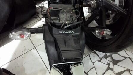 New Megapro Streetfighter | Mesin Tangki Shock Lengan ayun Sein Bodi Kaki2 dll